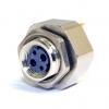 Manageable Fiber Optic M12 Transceiver